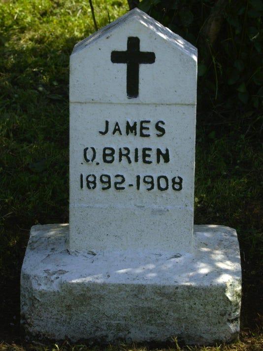 O'Brien headstone