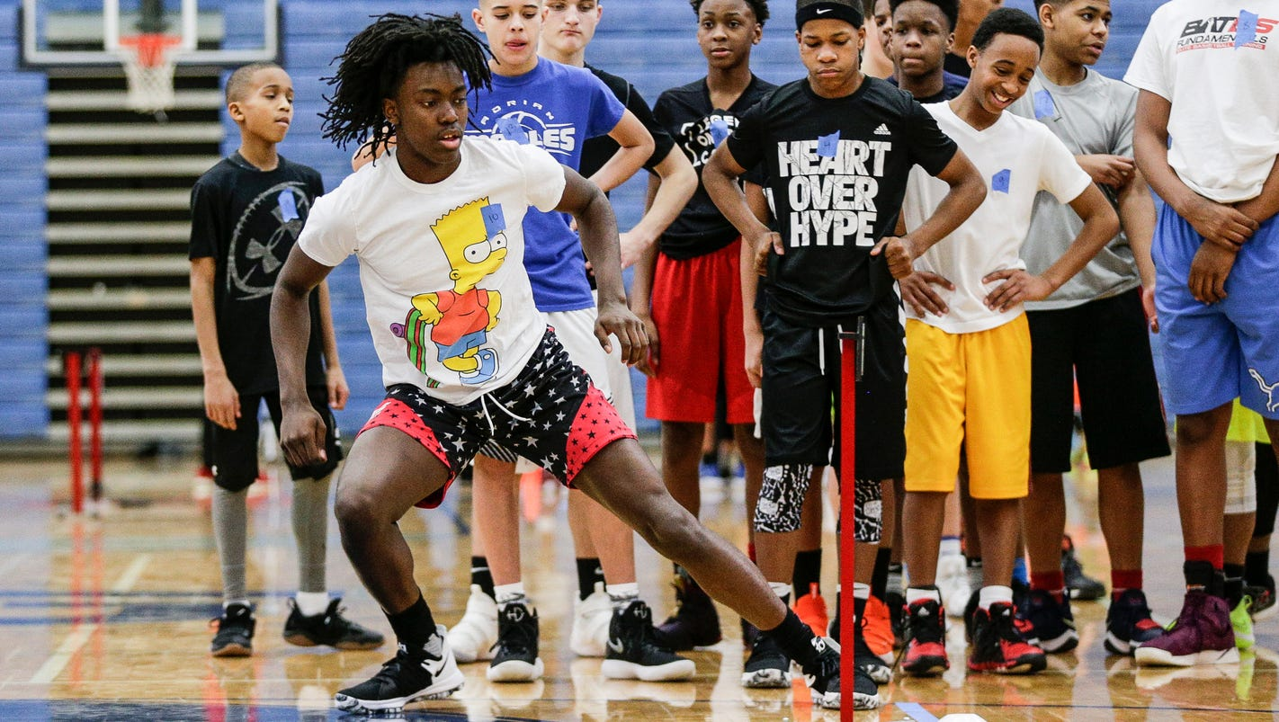 Mt. Clemens eighth-grader Javaughn Hannah is drawing college interest