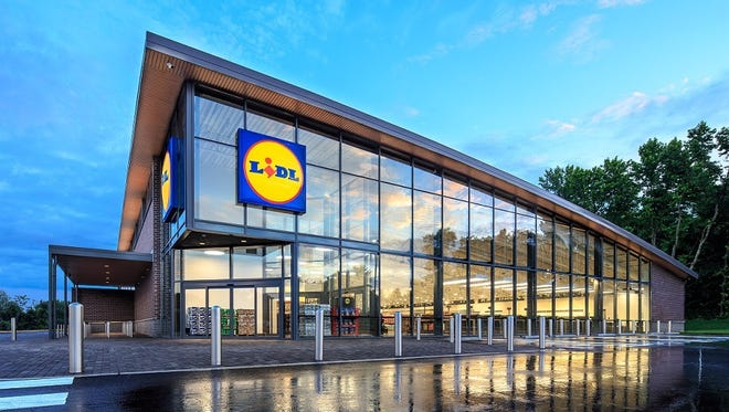 Lidl is going to create airy grocery stores like this one