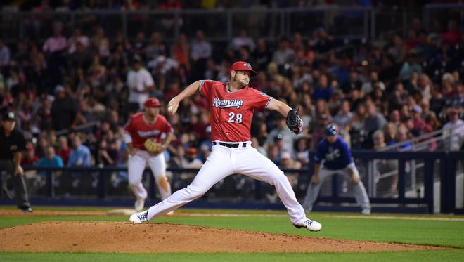 Former Lipscomb pitcher Josh Smith, who pitched with the Nashville  Sounds for nine games this season, has been called up to the Oakland A's.