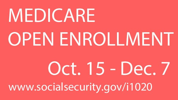 Open enrollment begins later this month