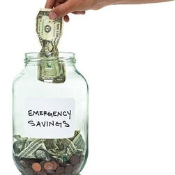 Saving for an emergency is smart financial planning.