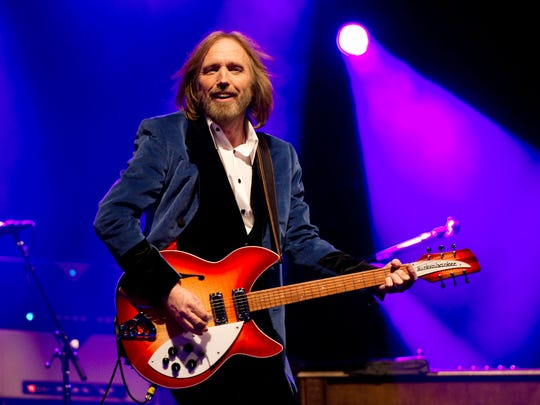 Tom Petty and the Heartbreakers perform on the main