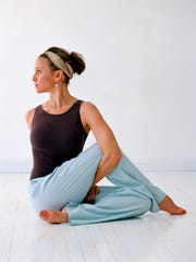 Instead of venting move into seated twists. Hold the twist for a minute, and twist deeper with each exhalation.