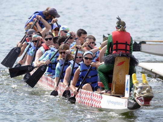 The dragon boats are coming! Head to Bayview Park on Saturday to enjoy the races and other activities.