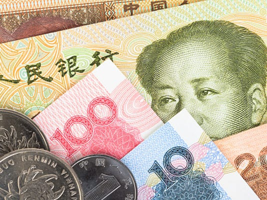 Stock-image-China-currency
