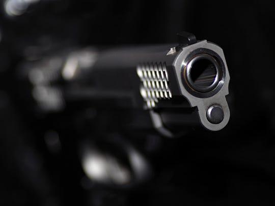 A stock image of a gun.