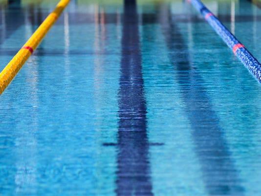 swimming logo