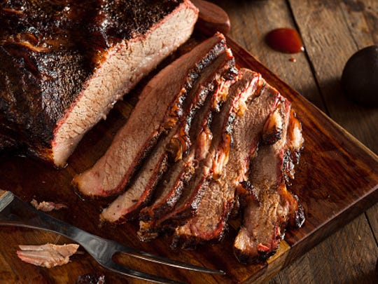 Brisket, chicken, pulled pork and ribs will be served up by cooks from across the country as they compete for the judge's pick and the People's Choice Award.