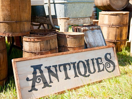 The big Witches of Bethel antique show has a new home in Myerstown.