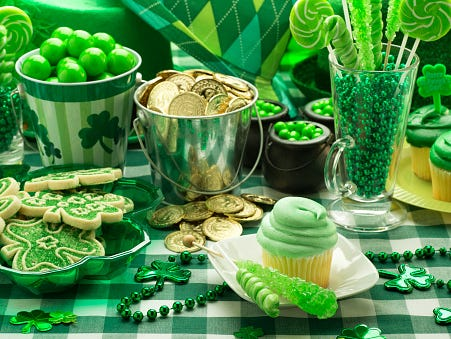 St. Patrick's Day is approaching - get ready with these free and delicious recipes!