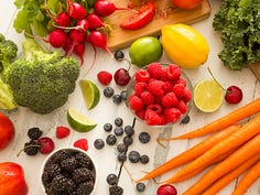 Don't be lazy. It's easy to get more fruits and veggies in your daily diet