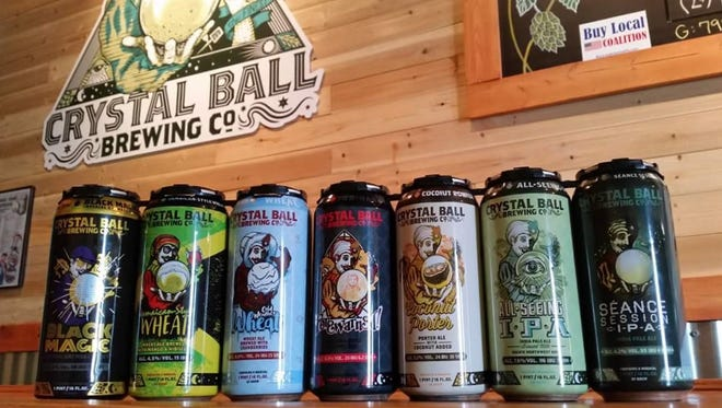 Crystal Ball Brewing Co. is opening a tasting room in the former Weinbrom Jewelers building in downtown York.