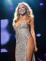 Mariah Carey at the 2016 Essence Festival in New Orleans. Carey and Lionel Richie announced Monday, Dec. 12, they are joining forces for the All The Hits Tour, which kicks off in Baltimore on March 15, 2017. (Photo by Amy Harris/Invision/AP, File) ORG XMIT: NYET559