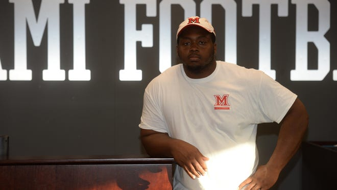 Richmond High School graduate and Miami University freshman Nathon Trawick is the 2015 Myyon A. Barnes Athlete of the Year. Trawick was a three-sport standout at RHS who was an all-state football player, and a state runner-up in both wrestling and track.