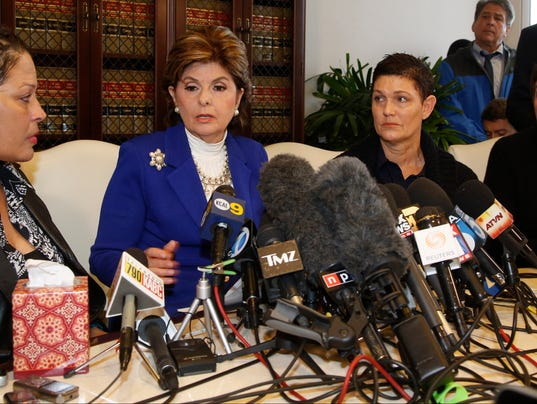 Gloria Allred Cosby conference