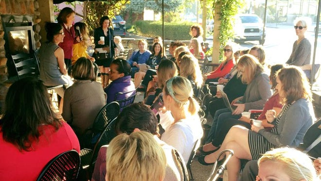 """The Courier-Journal hosted its """"Coffee with the Courier"""" focusing on women entrepreneurs at Vint Coffee."""