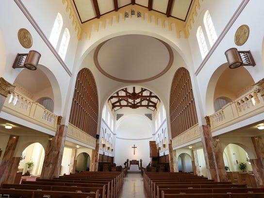 SAL Mount Angel Abbey CHURCH2