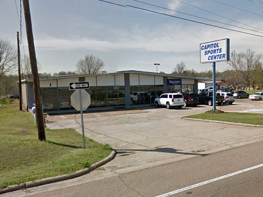 Former Capitol Sports Center on I-55 frontage road in Jackson, Miss.