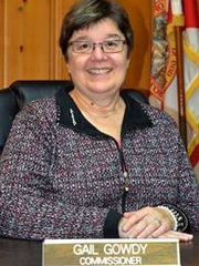 Gail Gowdy is running for town commissioner of Melbourne Beach.