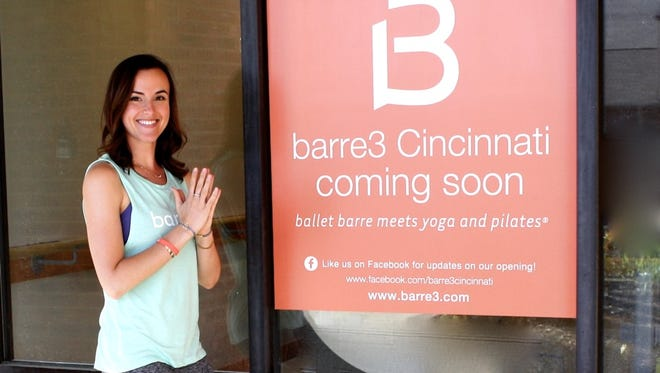 Natalie Denka decided to open a Barre3 gym franchise because there wasn't one in the area.