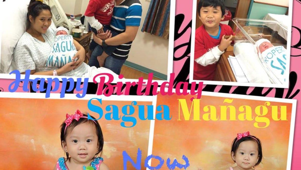 Angelica Cepeda sagua mañagu celebrates 15 years of birthdays