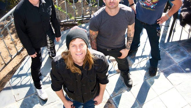 Puddle of Mudd will play the 2015 Arts, Beats & Eats festival.