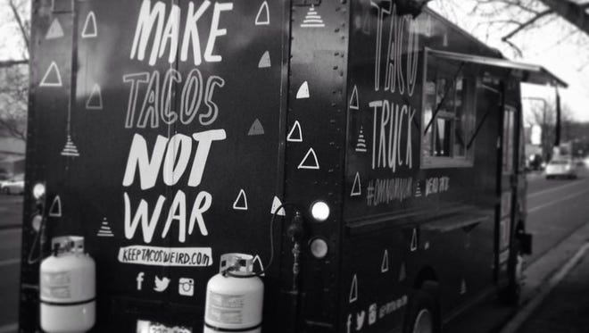 Austins Tacos food truck will be at the Coloradoan's parking lot tomorrow for lunch.
