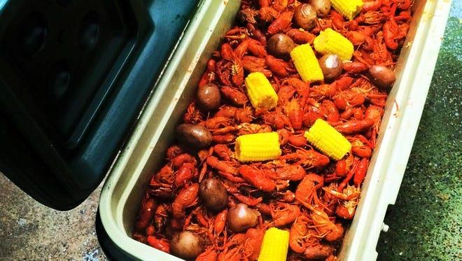 "Crawfish makes ""fasting"" feel less like ""fasting."""