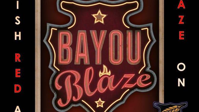 Chafunka's red Irish ale, Bayou Blaze.