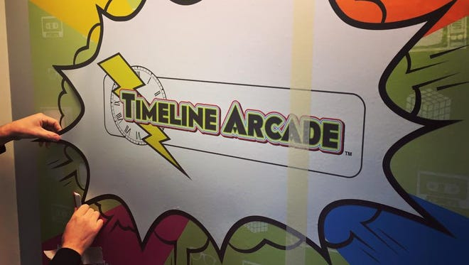 Timeline Arcade is set to open in downtown York on April 15.