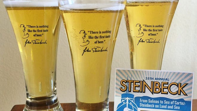 Ticket holders to the Steinbeck's Home Brew Fest will receive a commemorative glass.