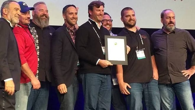 Four Peaks received a gold medal for its Kilt Lifter beer at the World Beer Cup.