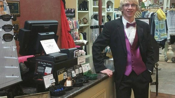 Girls in Pearls Boutique in downtown Stevens Point has partnered with Jim's Formal Wear to offer tuxedo for rent and sale.