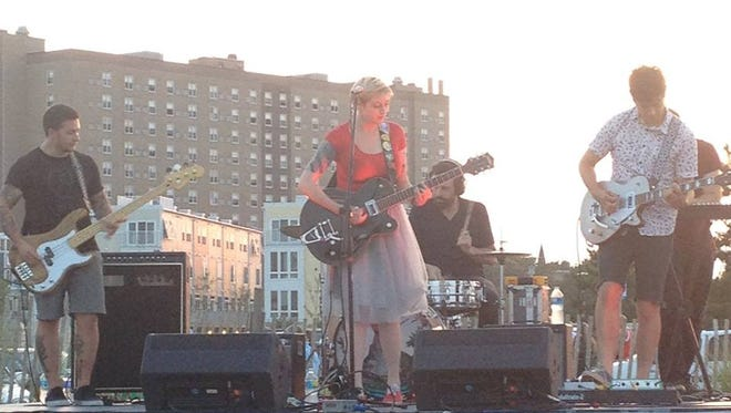 Dentist performs at the Asbury Park Live! music series on the Asbury Park boardwalk last year.
