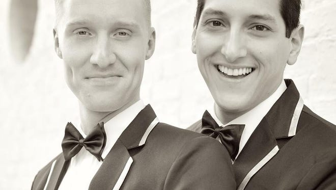 Aaron Polk and Michael Dorado, who make their home in Jackson, recently celebrated their first wedding anniversary.