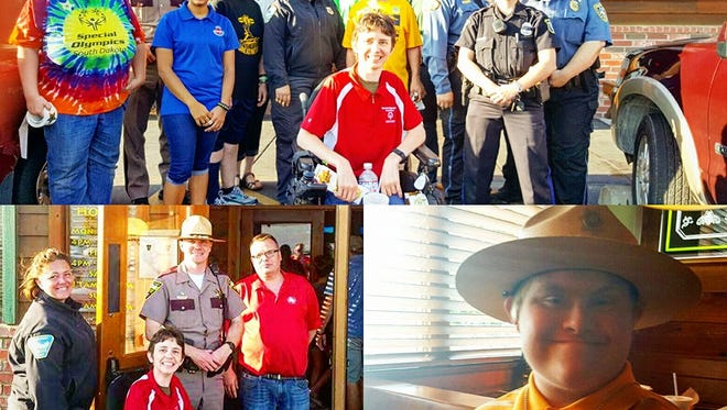Sioux Falls Police helped raise more than $4,000 for Special Olympics South Dakota during its 'Tip a Cop' fundraiser Aug. 31 and Sept. 1.