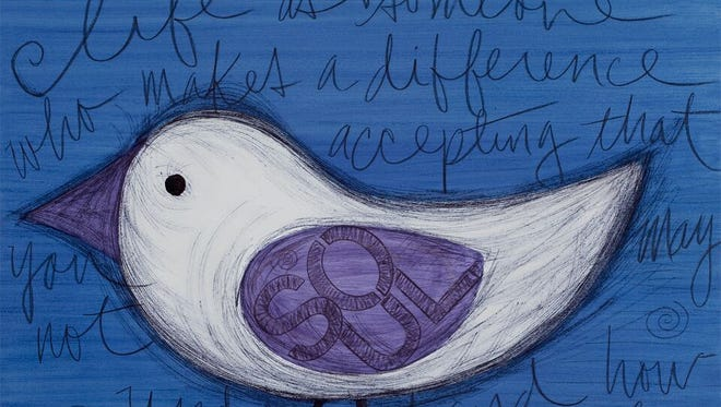 Phoenix artist Mary Beier will be among the artists exhibiting at Uncommon Markets at Salt River Fields Oct. 8-9.