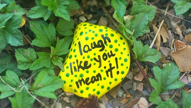 Some Chandler residents painted rocks for others to find around the city.