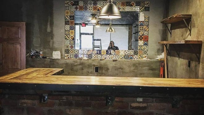 Ki Mexico's new bar is close to completion.