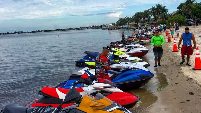 The PWC Aqua Challenge is a poker run on personal watercraft to benefit the Midwest Food Pantry in Cape Coral on June 10.