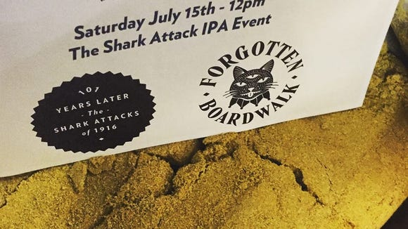 Hit Forgotten Boardwalk today for fun with sharks a release of a new IPA.