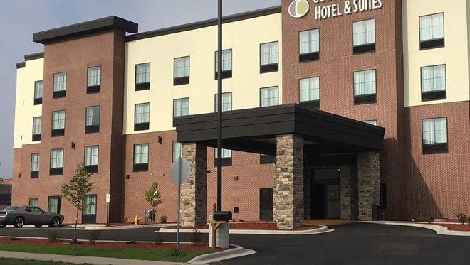 Cobblestone Hotel & Suites along with its restaurant, Wissota Chophouse, opened in downtown Stevens Point on Aug. 30, 2017.