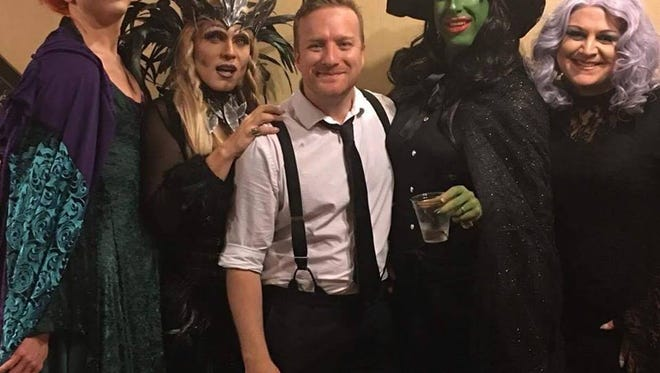 The Mister Sisters, from left, are Kola Stomey, Lexi Tucker Dixon, Seth Lutter, Julie Yard and Virgo Fatale.