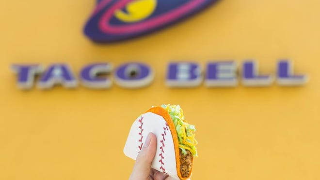 Who likes free tacos? If a player steals a base in the World Series, all of America can steal a free Doritos Locos Taco.