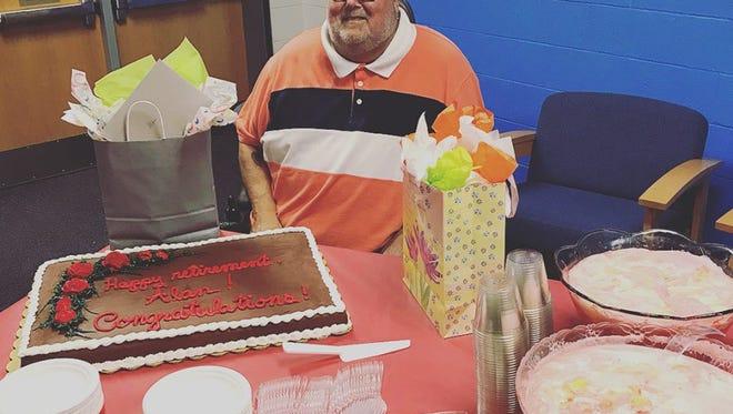 Alan Walden, longtime Freedom Intermediate School teacher, 56.