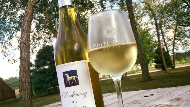 Start your weekend off right at White Horse Winery and listen to live music from Sara James at White Horse Winery.