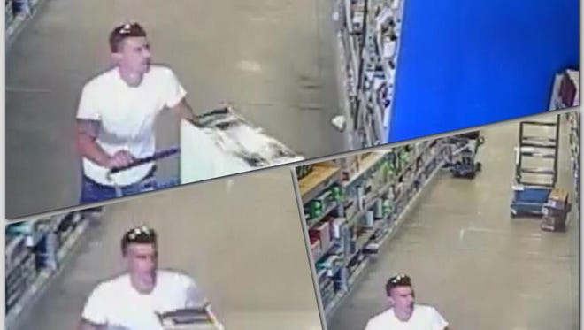 This photo shows a man that Cape Coral Police say stole home improvement goods from Lowe's.