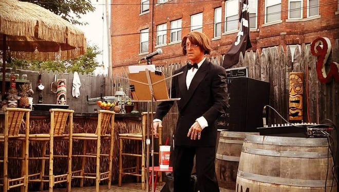 Konrad Lee, Lounge Singer Extraordinaire will perform July 13 at Mudgie's.