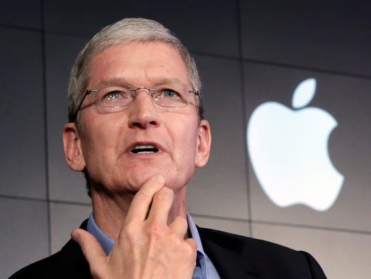 Apple CEO Tim Cook on April 30, 2015.